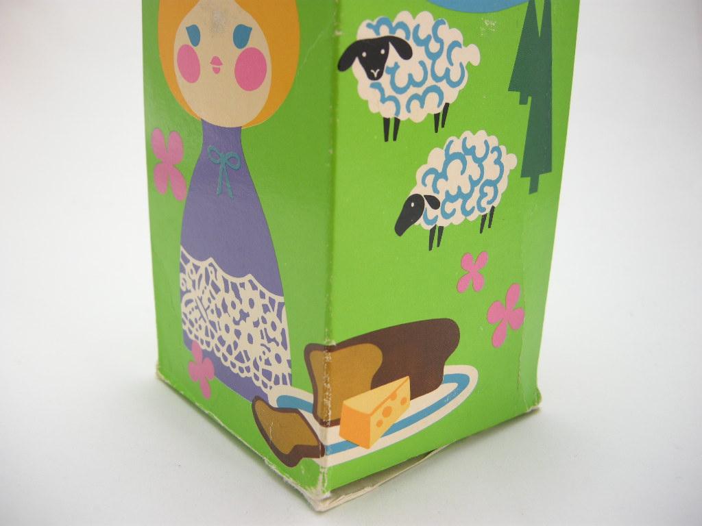 エイボン コロンボトル スモールワールド Heidi/スイス (箱入り) 1970〜72年 A No.012