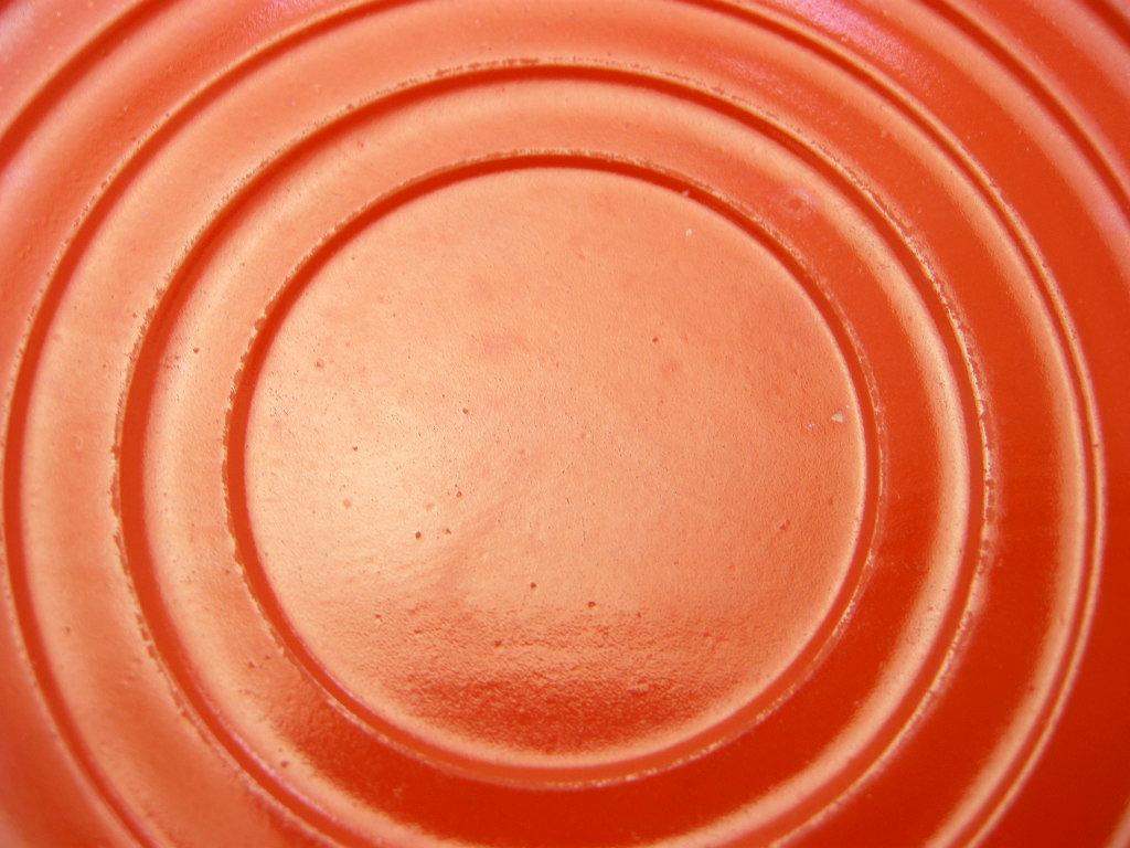 ヘーゼルアトラス モダントーン(ファイヤードオン) カップ&ソーサー オレンジ 30s AB No.047