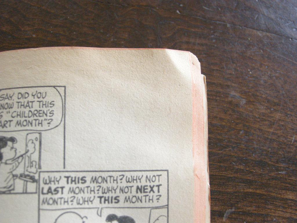 スヌーピー 『ALL THIS AND SNOOPY, TOO』 ヴィンテージコミックブック モノクロ 1962年発行 (ペーパーバック) No.002 中古AB