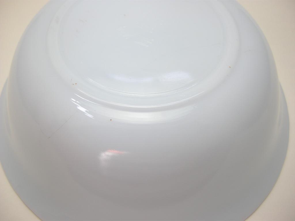 ファイヤーキング スワール ベジタブルボウル アズライト 40s後期(GLASS刻印) AB No.002