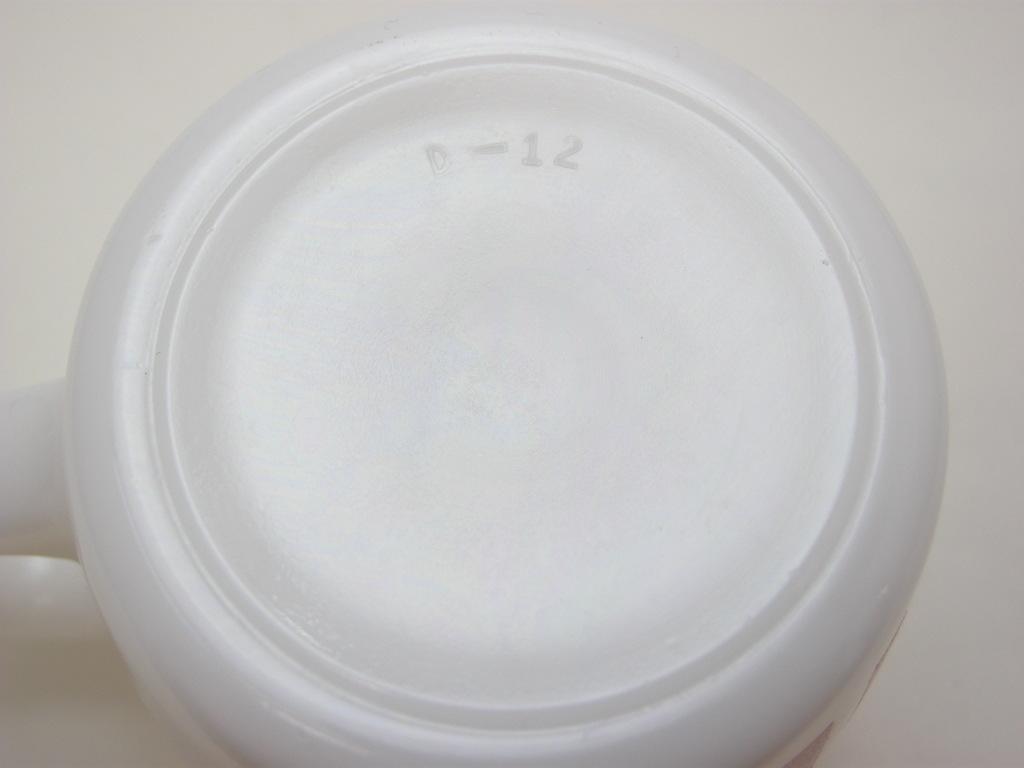 ヘーゼルアトラス プリントマグ キャンディストライプ 赤 S No.008