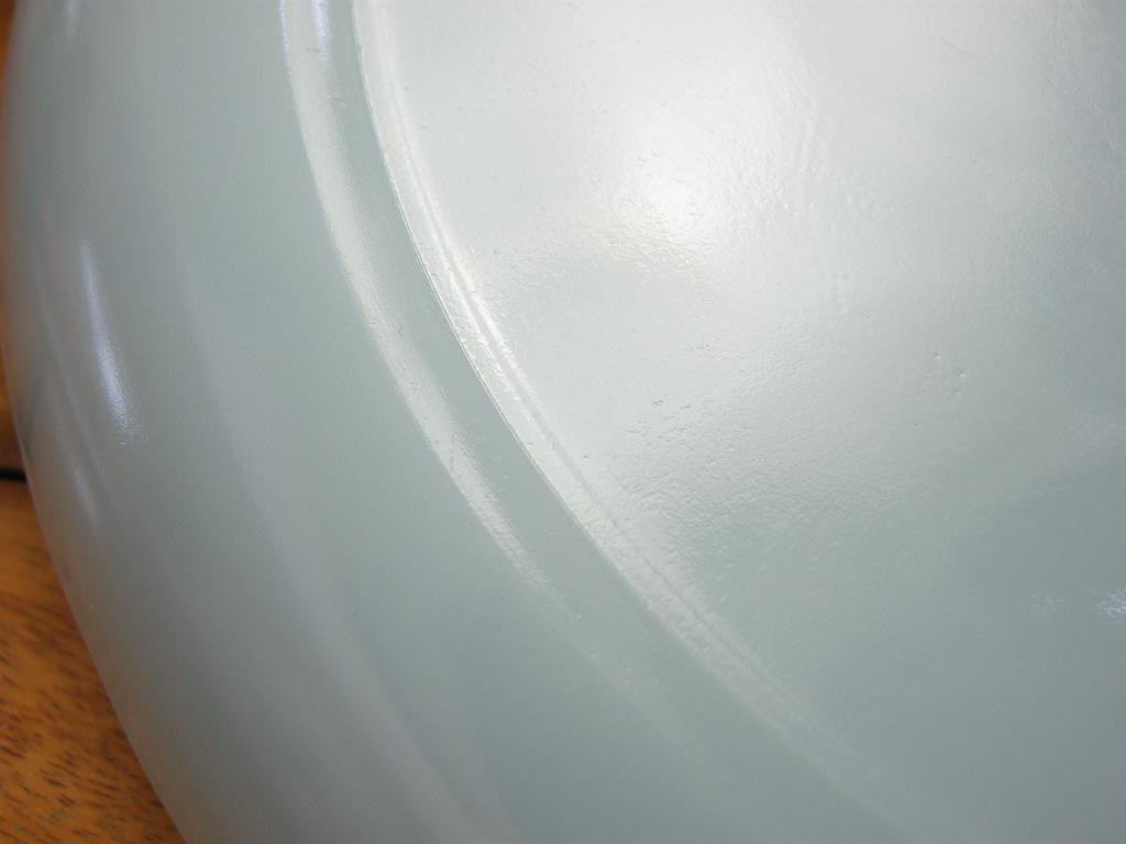 ファイヤーキング 9インチプレート(約23センチ) ターコイズ 50s後期 S No.030