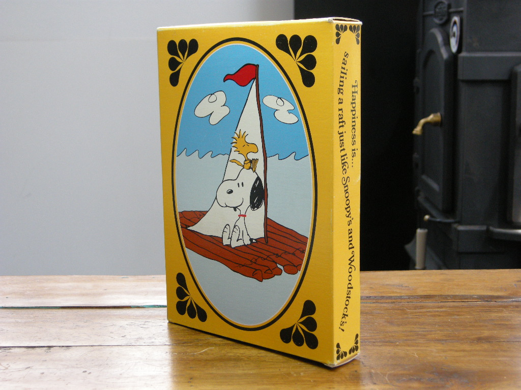 エイボン ソープディッシュ&ソープ(SNOOPY COME HOME) スヌーピー (箱入り) 1973年 AB No.051