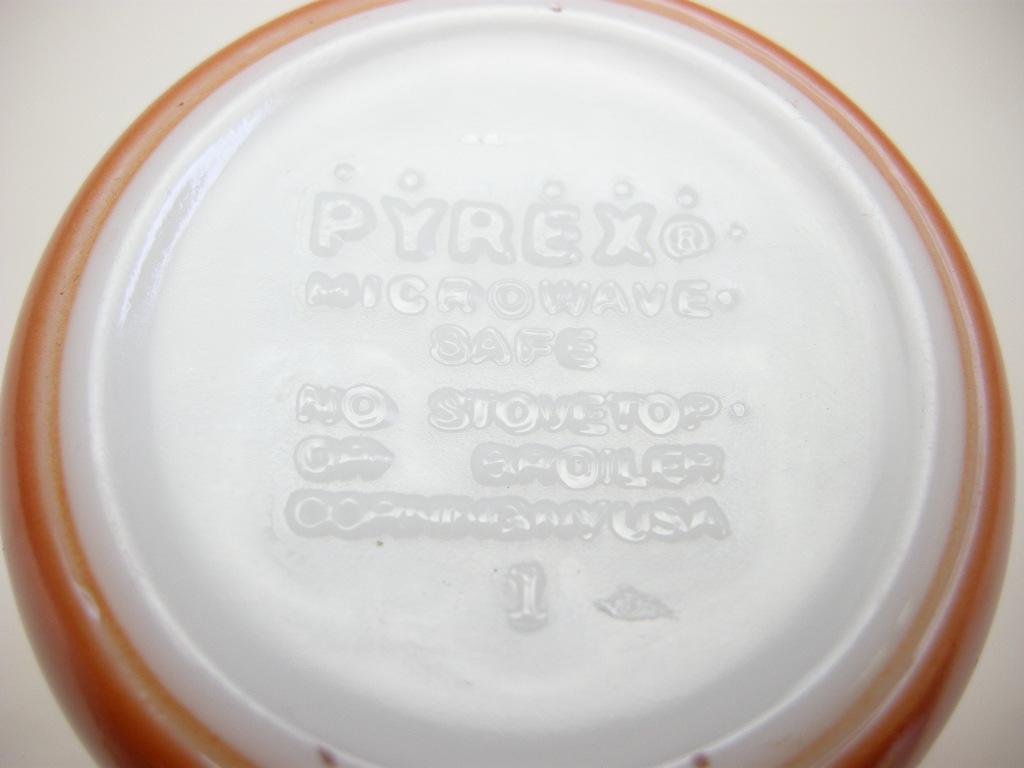 パイレックス カラーマグ 栗色 60s S No.047