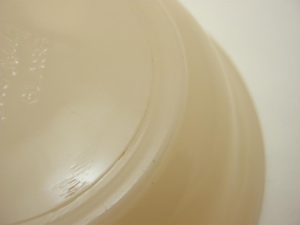 ファイヤーキング ジェーンレイ デザートボウル ダークアイボリー 40s後期(GLASS刻印) A No.001