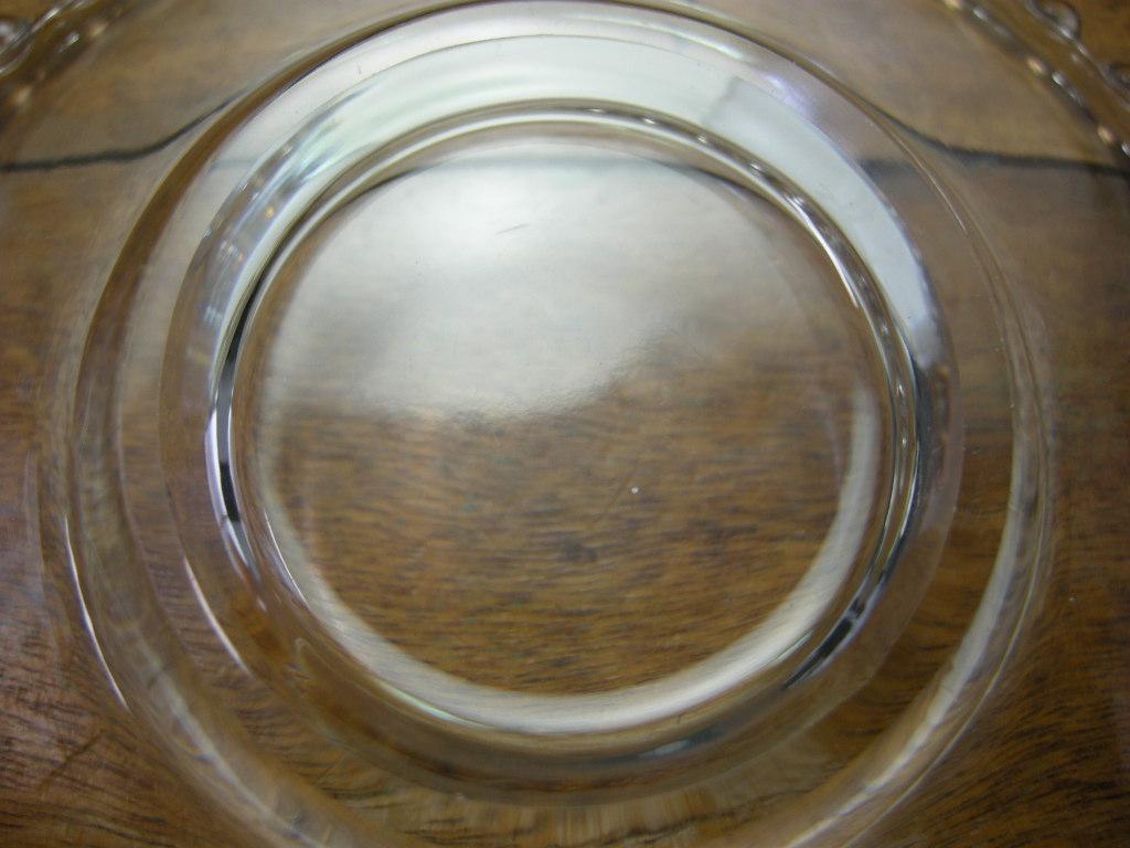 インペリアルグラスカンパニー キャンドルウィック カップ&ソーサー クリスタル S No.011