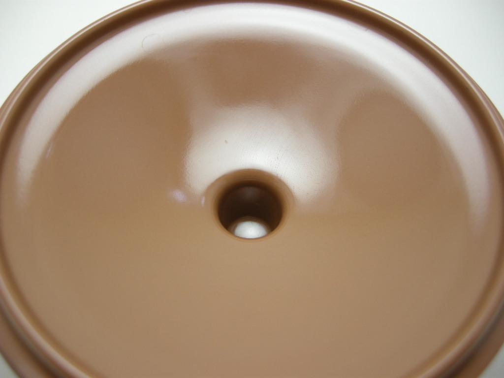 テキサスウェア メルマック シュガーポット サドルブラウン 1950年代 No.001 ヴィンテージ・メラミン樹脂製食器