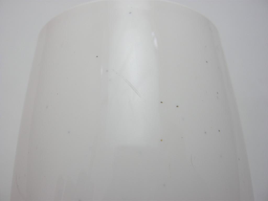 ボップデッカー メルマック タンブラー(L) ホワイト&水色 1950年代 AB No.017 ※ヴィンテージ・メラミン樹脂製食器