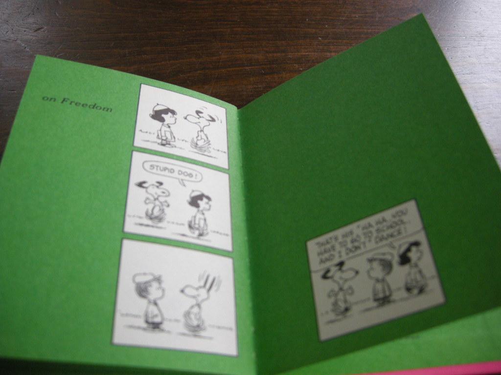 スヌーピー 『LIVE AND LEARN』 ヴィンテージコミック カラー紙/モノクロ 1971年発行(ハードカバー) No.019 中古AB