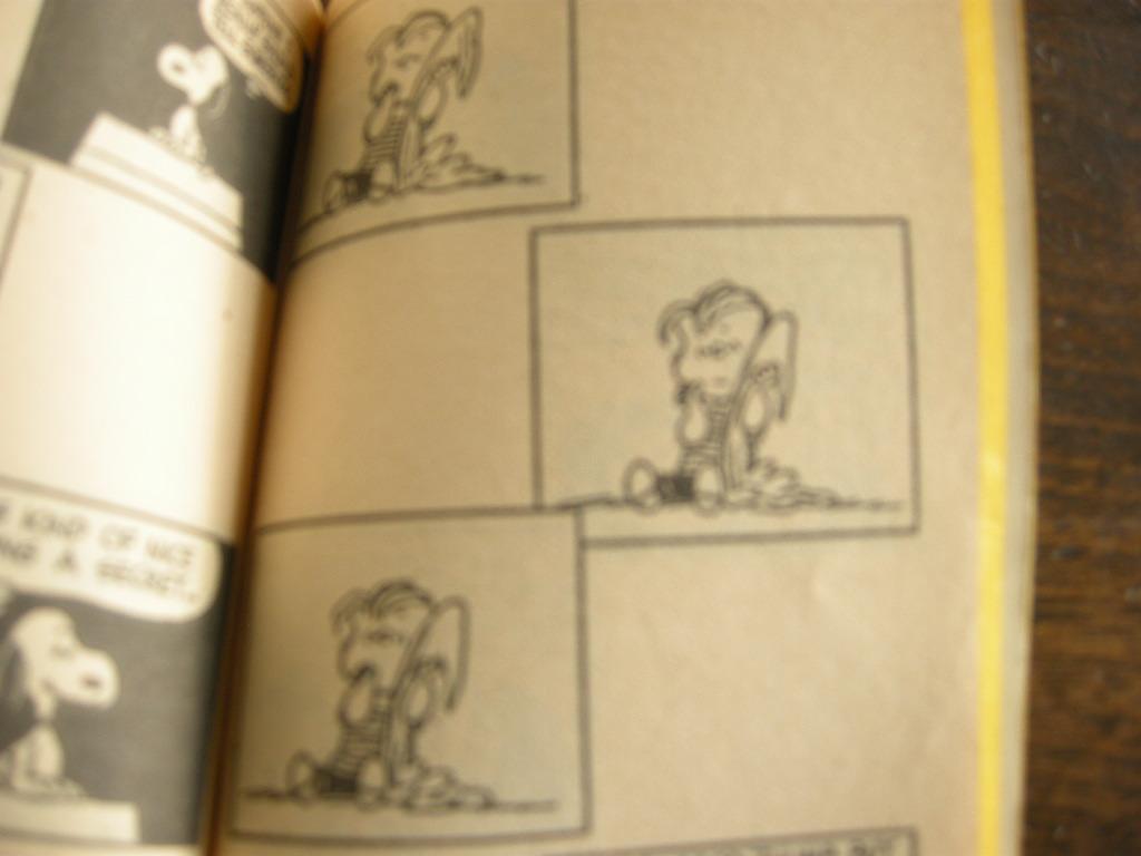 スヌーピー 『You're a Pal, Snoopy!』 ヴィンテージコミックブック モノクロ 1965年発行 (ペーパーバック) No.001 中古A