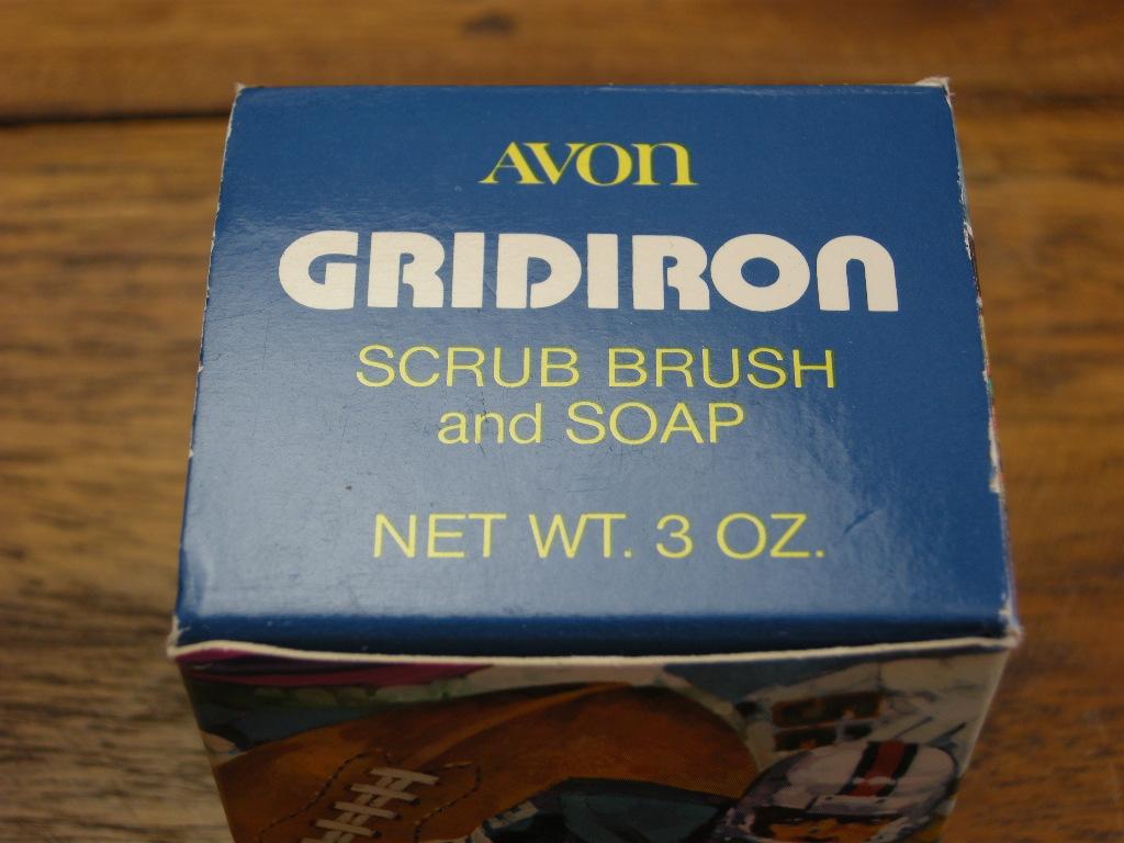 エイボン ネイルブラシ&石けんセット(GRIDIRON)/アメリカンフットボール (箱入り) S No.046