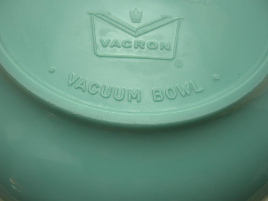 ボップデッカー メルマック ボウル ホワイト&水色 1950年代 AB No.014 ※ヴィンテージ・メラミン樹脂製食器