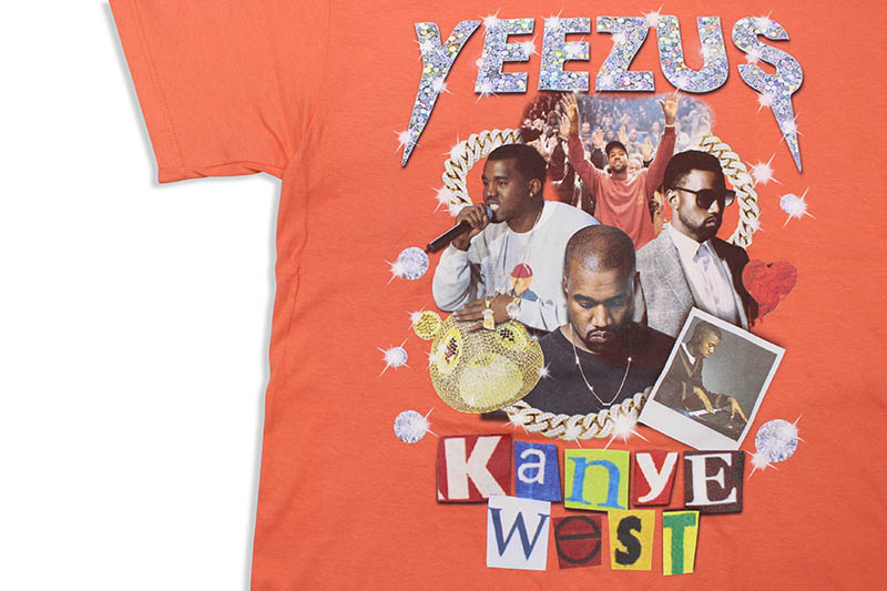 BOGUS GOODS YEEZUS TEE (ORANGE)