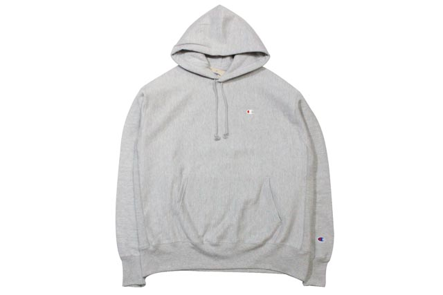 CHAMPION LIFE REVERSE WEAVE PULLOVER HOODIE (OXFORD GREY)