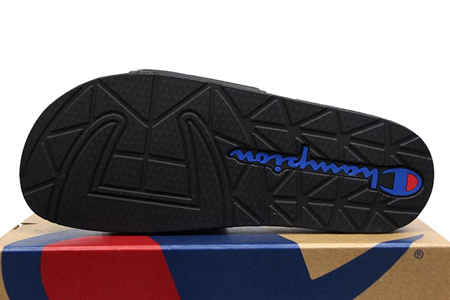 CHAMPION LIFE IPO JOCK SLIDE (CM100145M:TRIPLE BLACK)