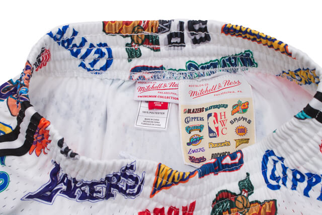 MITCHELL&NESS ALL OVER SWINGMAN MESH SHORTS(ALL-STAR WEST/WHITE)