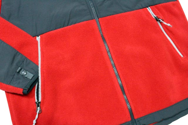 THE NORTH FACE DENALI HOODIE JKT(TNF RED/ASPHALT GREY)