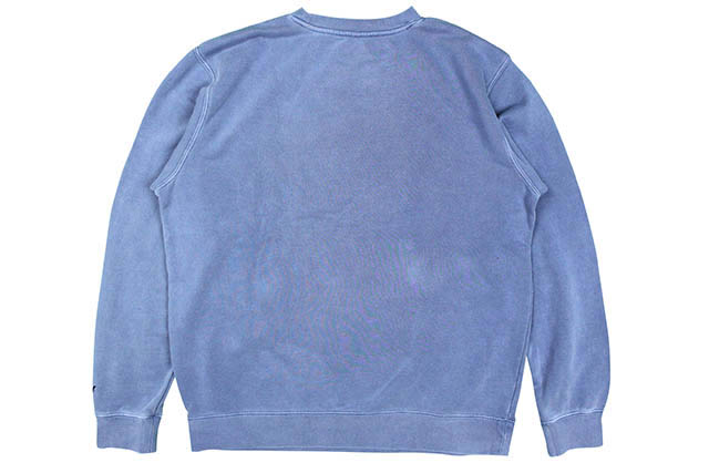 "CLASSIC MATERIAL NY ""AALIYAH"" CREW SWEAT(PIGMENT SLATE BLUE)"