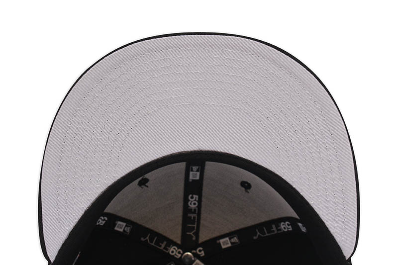 NEW ERA NEW YORK YANKEES 59FIFTY FITTED CAP (2013 ALL-STAR GAME SIDE PATCH/GREY UNDER VISOR/BLACK)