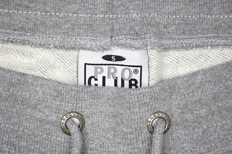 PRO CLUB HEAVYWEIGHT FRENCH TERRY SHORT (HEATHER GRAY)