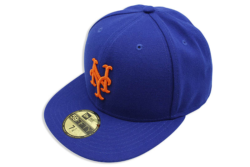 NEW ERA NEW YORK METS 59FIFTY FITTED CAP (OLD AUTHENTIC/BLUE)
