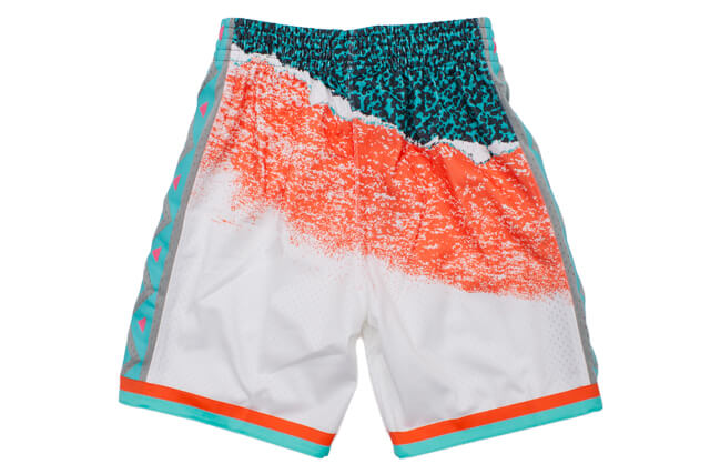 MITCHELL&NESS SWINGMAN MESH SHORTS(ALL-STAR WEST/1996/WHITE)