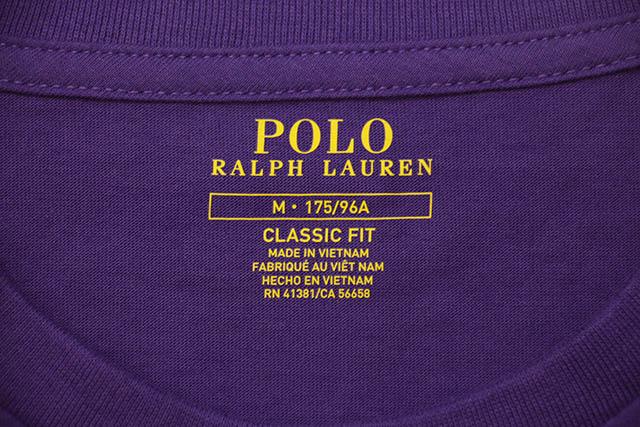 POLO RALPH LAUREN COTTON JERSEY POCKET T-SHIRT (710704248070:CABANA PURPLE)