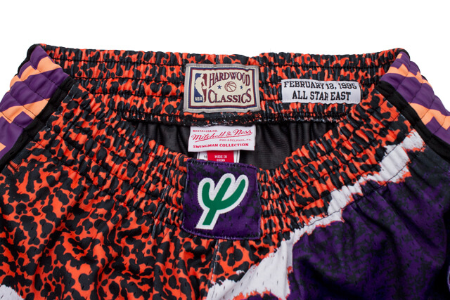 MITCHELL&NESS SWINGMAN MESH SHORTS(ALL-STAR EAST/1995/BLACK)