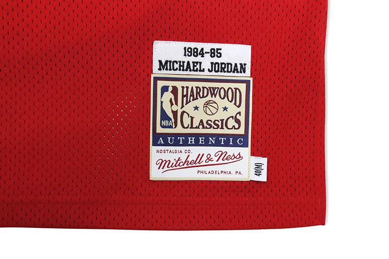 MITCHELL & NESS AUTHENTIC JERSEY (CHICAGO BULLS/ROAD/1984-85/MICHAEL JORDAN)