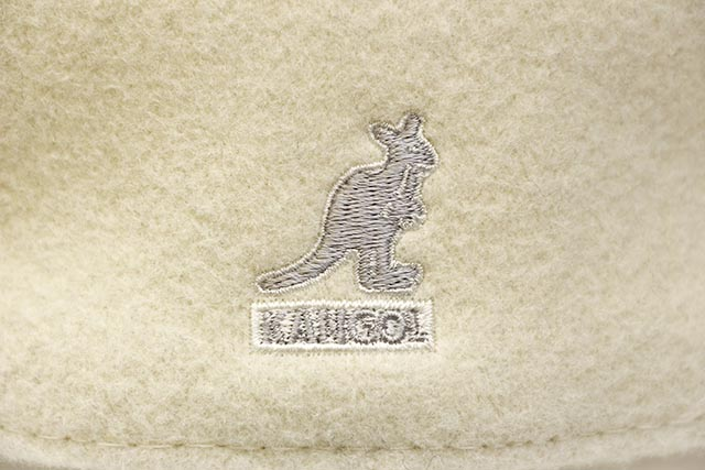 KANGOL WOOL 504 HUNTING CAP (0258BC/WH103:WHITE)