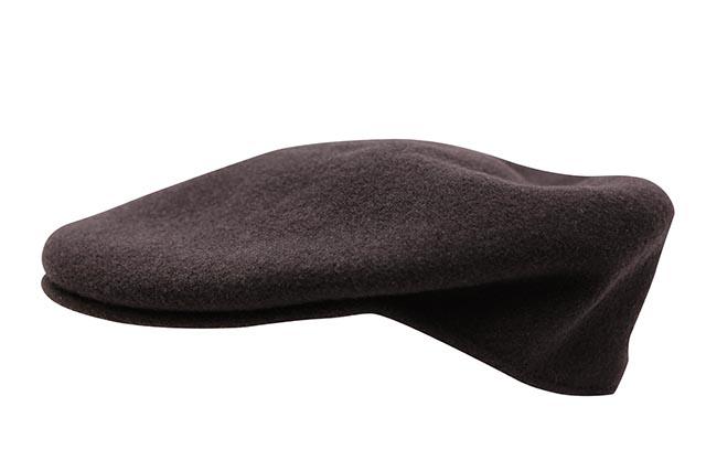 KANGOL WOOL 504 HUNTING CAP (0258BC/ES220:ESPRESSO)