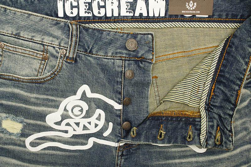 ICECREAM SOFT SERVE JEANS SHORT (411-3101:BLUE)
