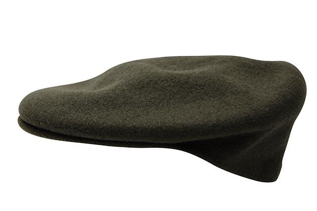 KANGOL WOOL 504 HUNTING CAP (0258BC/LD304:LODEN)