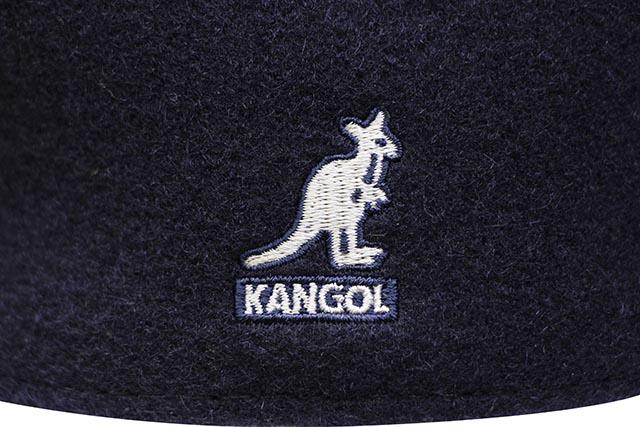 KANGOL WOOL 504 HUNTING CAP (0258BC/DB404:DARK BLUE)