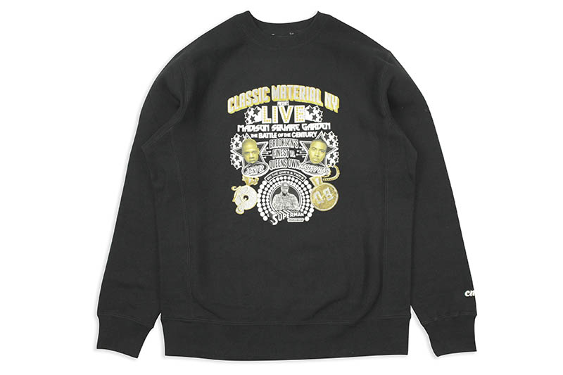 CLASSIC MATERIAL NY THE BATTLE OF THE CENTURY CREW (BLACK)