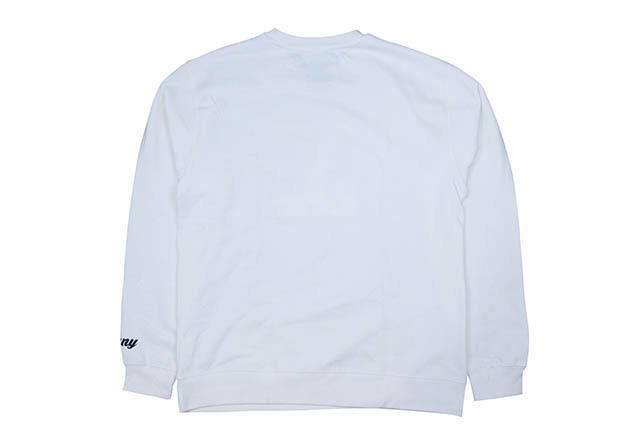 """CLASSIC MATERIAL NY """"REAL LOVE/CMLA"""" CREW SWEAT(WHITE)"""