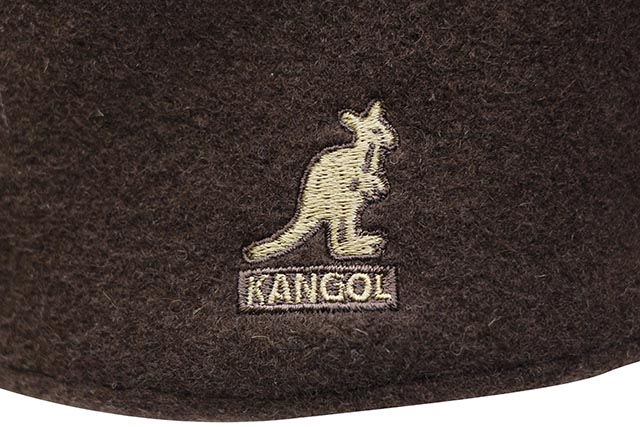 KANGOL WOOL 504 HUNTING CAP (0258BC/TB274:TOBACCO)