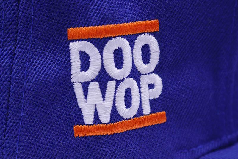 CLASSIC MATERIAL NY x DOO WOP THE OLD NEW YORK SNAPBACK CAP (ROYAL)