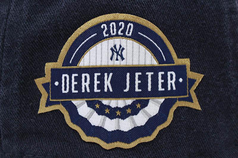 NEW ERA NEW YORK YANKEES 9TWENTY ADJUSTABLE CAP (NAVY/DEREK JETER 2020 HALL OF FAME)