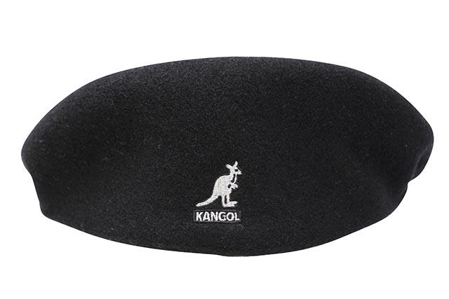 KANGOL WOOL 504 HUNTING CAP (0258BC/BK001:BLACK)