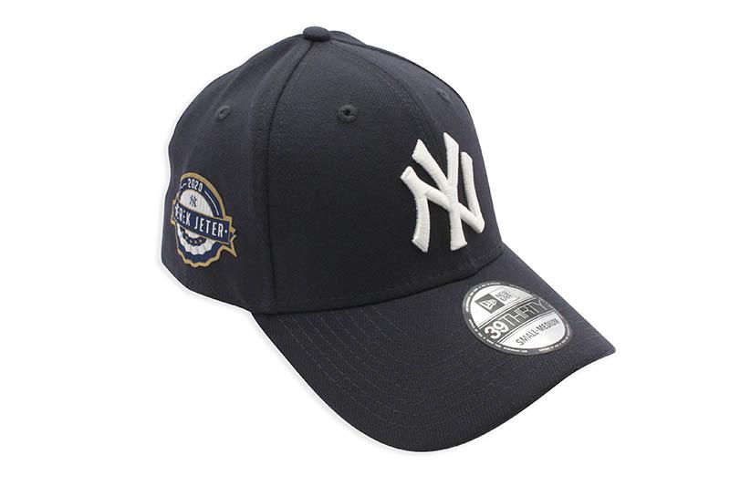 NEW ERA NEW YORK YANKEES 39THIRTY STRETCH FIT CAP (NAVY/DEREK JETER 2020 HALL OF FAME)