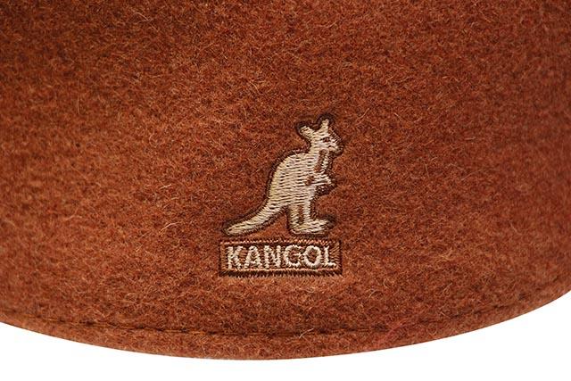 KANGOL WOOL 504 HUNTING CAP (0258BC/FO608:FIRE OPAL)