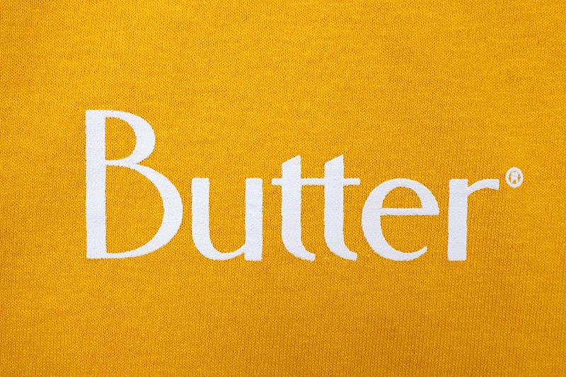 BUTTER GOODS CLASSIC LOGO TEE (GOLD)