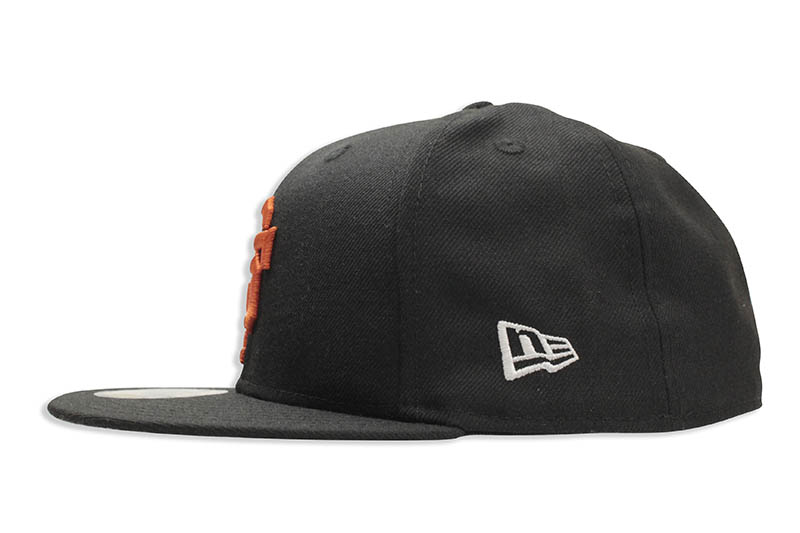 NEW ERA SAN FRANCISCO GIANTS 1958 COOPERSTOWN WOOL 59FIFTY FITTED CAP (BLACK/ORANGE)