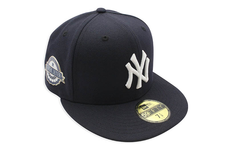 NEW ERA NEW YORK YANKEES 59FIFTY FITTED CAP (NAVY/DEREK JETER 2020 HALL OF FAME)