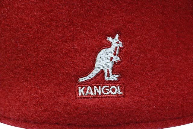 KANGOL WOOL 504 HUNTING CAP (0258BC/RD608:RED)