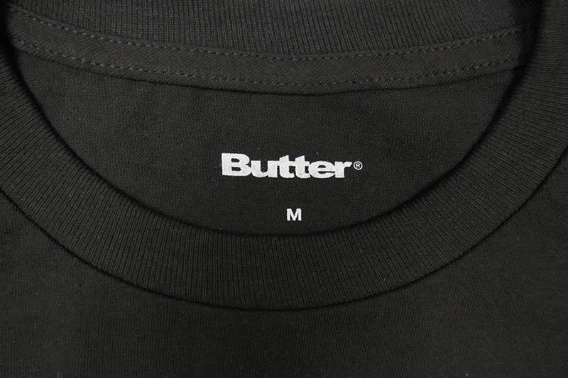BUTTER GOODS GEAR TEE (BLACK)