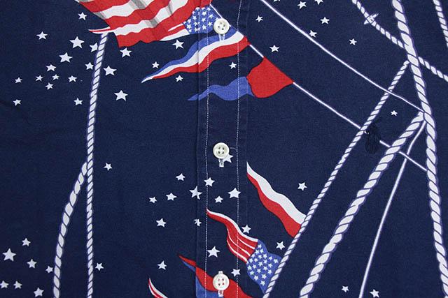 POLO RALPH LAUREN NAUTICAL FLAG BUTTON DOWN SHIRT