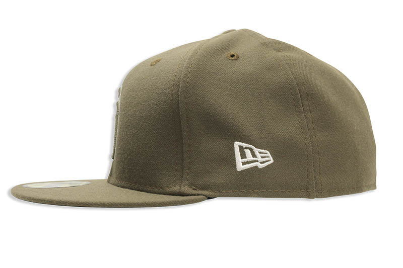 NEW ERA SAN DIEGO PADRES AUTHENTIC COLLECTION 59FIFTY FITTED CAP (OLIVE)