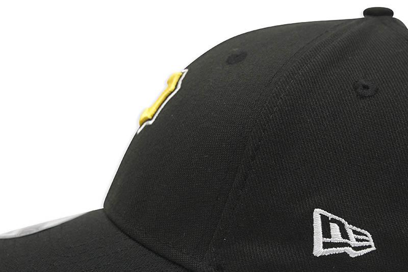 NEW ERA PITTSBURGH PIRATES TEAM CLASSIC 39THIRTY STRETCH FIT CAP (ALTERNATE BLACK)